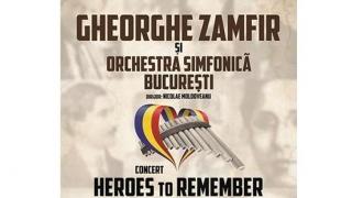 Gheorghe Zamfir și OSB sărbătoresc 1 Decembrie la Constanța