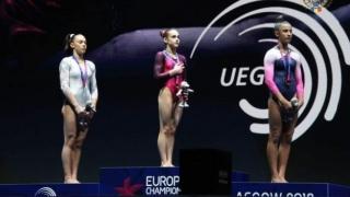 Gimnastă de la CS Farul, campioană europeană de junioare la sol