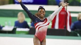 Gimnasta americană Simone Biles, patru medalii olimpice de aur şi una de bronz