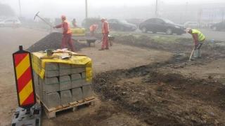 Zonele în care se reabilitează trama stradală în Constanța
