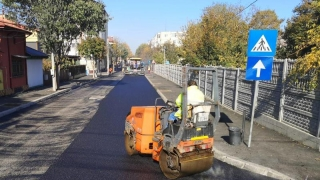 Continuă procesul de reabilitare a străzii Unirii din Constanța