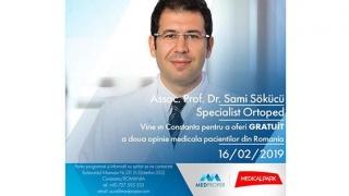 Gratuit! A doua opinie! Reputat medic turc ortoped, la Constanţa