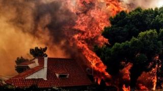 Noi incendii în Grecia!