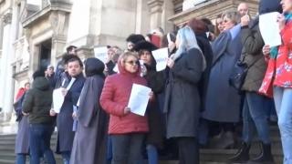 Ministrul Justiţiei s-a întâlnit cu grefierii, după protestele recente