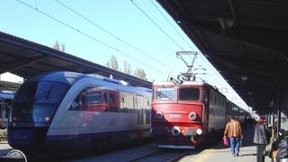 Mersul trenurilor, afectat de un protest spontan la CFR