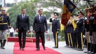 Prim-ministrul Marelui Ducat de Luxemburg, Xavier Bettel, primit la Palatul Victoria