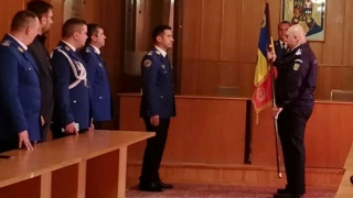 Colonelul Cristinel Gheorghe, împuternicit la comanda Grupării de Jandarmi Mobile Constanţa