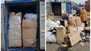 Două noi containere cu deșeuri, descoperite în Portul Constanţa