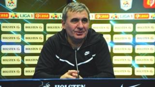 FC Viitorul, duel de play-off cu Gaz Metan