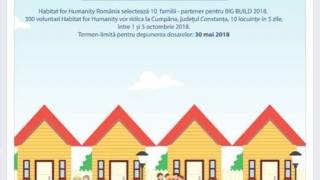 10 locuinte in doar 5 zile! Cumpăna rezolvă problema locuințelor sociale cu voluntariat