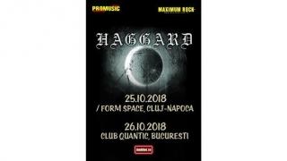 Haggard, din nou în România! Vezi când