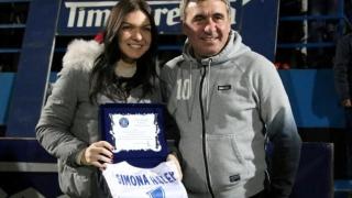 "Simona Halep: ""Gheorghe Hagi a fost eroul meu"""