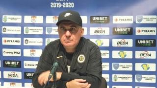 """Gică Hagi, manager tehnic Viitorul: """"Nu am început bine jocul şi nu l-am terminat cum trebuie"""""""