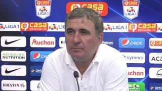 """Gheorghe Hagi, manager tehnic Viitorul: """"A fost o greşeală că nu suntem în play-off"""""""