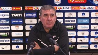 """Gică Hagi, manager tehnic Viitorul: """"Trebuie să luptăm pentru a intra în play-off"""""""