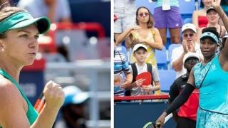 Halep a spulberat-o pe Venus Williams la Montreal