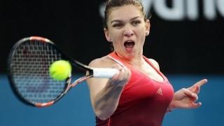 Simona Halep a întrerupt antrenamentele pentru Wimbledon din cauza durerilor