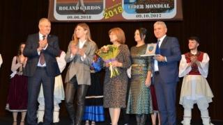 Simona Halep a primit titlul de cetăţean de onoare al municipiului Călăraşi