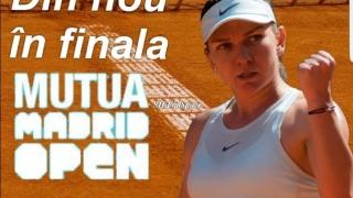 A patra finală la Madrid Open pentru Halep
