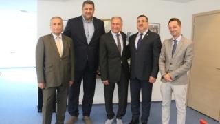 Președintele Federației Internaționale de Handbal, în vizită în România