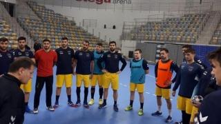 Handbaliştii tricolori au revenit în cantonament