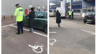 Handicapații fără handicap, amendați de poliție