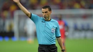 Arbitrul Ovidiu Haţegan, în lacrimi la finalul meciului Germania - Olanda
