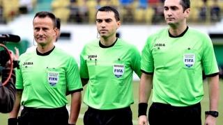 Haţegan va arbitra meciul Lazio Roma - FC Salzburg, din sferturile UEL