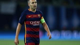 Andres Iniesta a revenit la antrenamentele Barcelonei