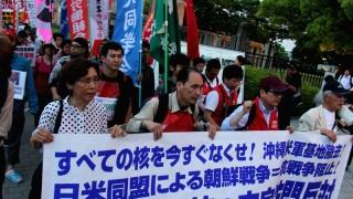 Proteste în Hiroshima înaintea vizitei lui Barack Obama