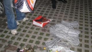 Hoț de cabluri, prins de polițiștii constănțeni