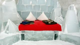 Se redeschide hotelul de gheață de la Bâlea Lac