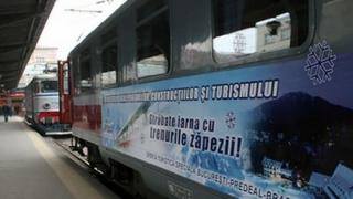 Se lansează TRENURILE ZĂPEZII!
