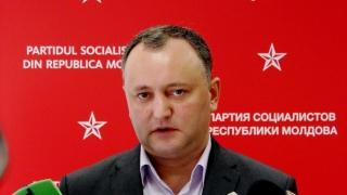 Igor Dodon, pe primul loc în scrutinul prezidenţial din R.Moldova