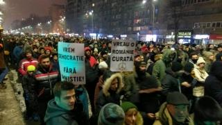 O nouă zi de protest în Capitală!