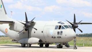 Două aeronave ale Forțelor Aeriene Române, trimise în Macedonia de Nord afectată de incendiile de vegetație