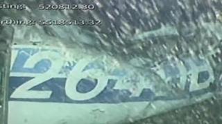 Imagini șocante cu un ocupant al avionului prăbușit în care se afla Sala