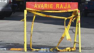 Avarie la conducta de alimentare cu apă de pe Aurel Vlaicu