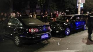 Accident în lanţ în Mamaia