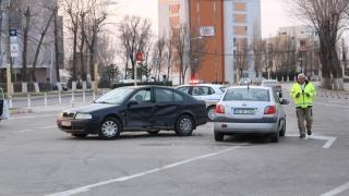 Autoritățile, în alertă! Accident rutier la intrare în Mamaia!