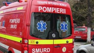 Grav accident de circulație: un șofer a ars de viu, iar alți doi sunt răniți