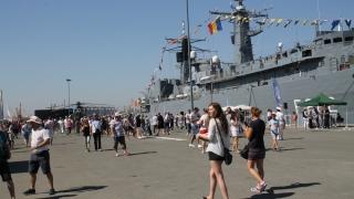 Marina militară și-a deschis porțile!