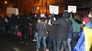 A treia seară de proteste la Constanța