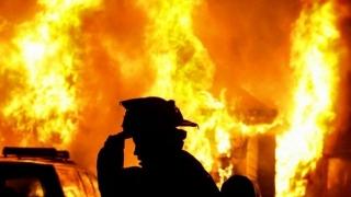 """Incendiu lângă liceul """"Carmen Sylva"""" din Eforie Sud!"""
