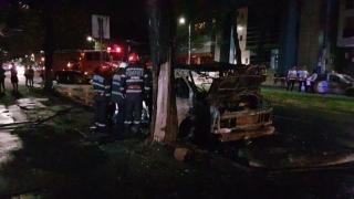 Vezi care este starea victimelor din incendiul produs pe bulevardul Mamaia