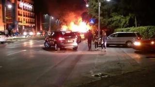 ÎNGROZITOR! Fetiţă de 6 ani, arsă de vie într-o rulotă, pe bulevardul Mamaia
