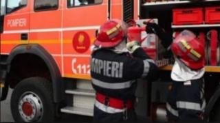Restaurant cuprins de flăcări, în Cernavodă