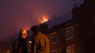 Incendiu cumplit în Manchester