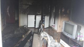 Incendiu într-un apartament din Constanța! Pompierii intervin!