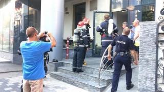 Incendiul de la SPIT nu a încurcat activitatea instituției